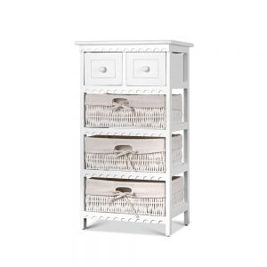 Basket Drawers Storage Cabinet
