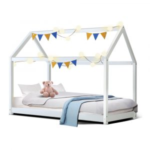 House-Shape Single Bed Frame